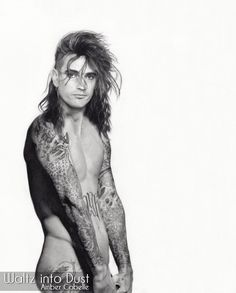 Tommy Lee - Motley Crue - Methods of Mayhem - Drummer - PETA Noctis And Luna, Tommy Lee Motley Crue, Chris Cornell, Black And White Portraits, Peta, Pop Group, Bigbang, How To Look Better, Naked