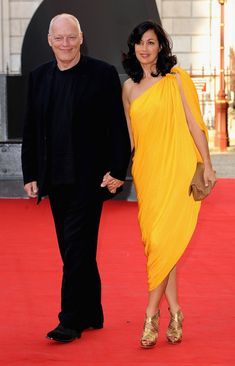 David Gilmour and Polly Samson Photo - Royal Academy Of Arts: Summer Exhibition - Preview Party