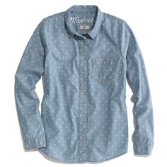 Dotted Chambray Boyshirt
