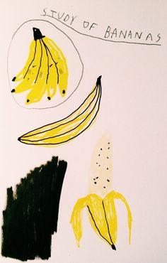 serendipity Platano Y Banana, Banana Art, Pop Art Illustration, Pen Art, Renaissance Art, Illustrations And Posters, Art Google, Love Art, Art Images