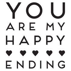 jij bent mijn happy ending!  ♥ #openingszin