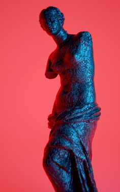 Classical Sculptures with Digital Patterns – Fubiz Media