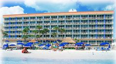DoubleTree Beach Resort by Hilton Hotel Tampa Bay - North Redington Beach, FL - Hotel Exterior View