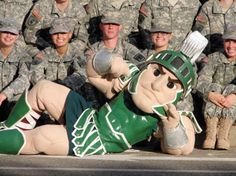The story of Sparty, Michigan State University's mascot!! http://armyrotc.msu.edu/_images/Homecoming/sparty.jpg