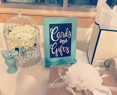 Wedding Chalkboard Signs. Cards and gifts sign