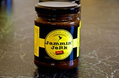 Jammin' JeRk Marinade Paste - Hot. Traditional 'hot' Jamaican smoky aromatic flavours with extra lashings of scotch bonnets. #jamminjerk #jerksauce #jerkmarinade #jamaicanjerk #jerkchicken #marinadepaste #marinade #hot