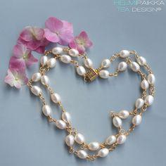 Osallistu upean helmikorun arvontaan Helmipaikan IGssä ja FBssä! Pearl Necklace, Pearls, Jewelry, Fashion, String Of Pearls, Moda, Jewlery, Jewerly, Fashion Styles
