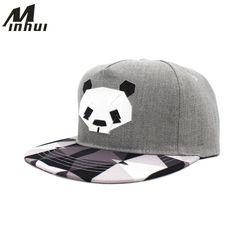 Daily Price $5.96, Buy Minhui New Fashion Black White Plaid Hats for Men and Women Hip Hop Cap Bone Gorras Snap Back Baseball Caps