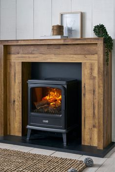 Good Absolutely Free Electric Fireplace surround Ideas Next Bronx Fireplace Surround – Natural Wood Fireplace Surrounds, Faux Fireplace Mantels, Wooden Fireplace, Rustic Fireplaces, Fireplace Design, Fake Fireplace Heater, Log Burner Fireplace, Natural Gas Fireplace, Fireplace Makeovers