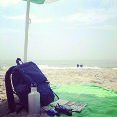 In the Summertime when the weather is fine...where I sit at the beach