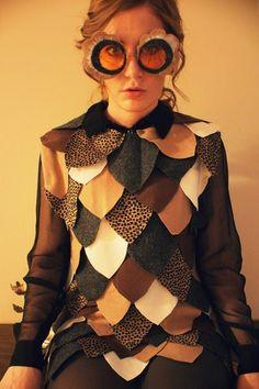 DIY-Kostümideen für die Fasnacht: Eule