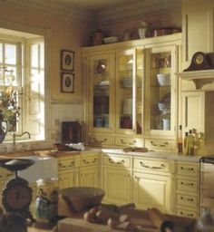 Charming English Cottage Kitchens #6 - English Country Cottage Kitchen