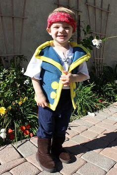 Lu Bird Baby: Jake from Jake and the Neverland Pirates Costume Tutorial