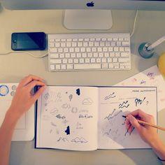 #ilogo #studio #work #desk #board #perfect
