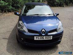 Renault Clio 1400 Dynamique 3 door blue 2006 #renault #clio #forsale #unitedkingdom