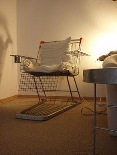 Shopping Cart Chair ~ tutorial