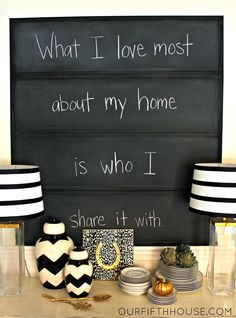 diy chalkboard panels from mirrors
