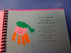 Handprint Art Books | Mrs. Kilburn's Kiddos