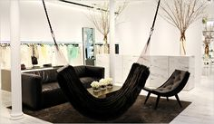 Redes de descanso em ambientes internos