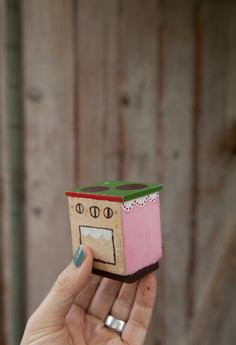 Hand painted mini wood stove by Fine Little Day | Page 2
