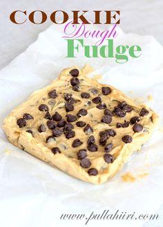 Pullahiiren leivontanurkka: Cookie dough fudge vai keksitaikinaherkku?