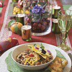 Laid-Back Chili Party - Southern Living