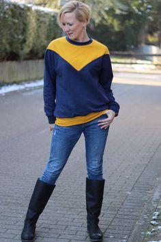 crearetro-raglanpulli-11 Raglan, Sewing Patterns, Men Sweater, Sweaters, Fashion, Sew, Contrast Color, Moda, Fashion Styles