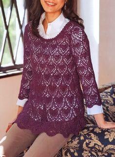 Beautiful Simple Women's Tunic        Pattern …     More …