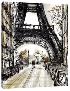 City Of Romance a limited edition print by Paul Kenton