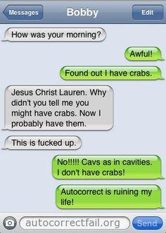 Crabs?!