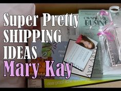 Pretty & Super Cute Shipping - Mary Kay Orders (+playlist) I love Michelle Cunningham! I could train from her all day! I never get tired.