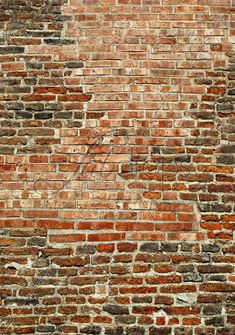 Old Brick Wall Backdrop Red Brick Photography by FabDrops on Etsy