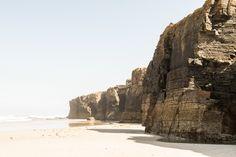 Playa de Las Catedrales, Cantabria #travel #Spain