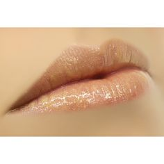 Temptress Gold Shimmer Sheer Lip Gloss for Attraction & Seduction ($12) ❤ liked on Polyvore
