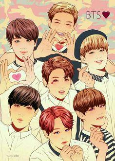 BTS [방탄소년단] | Fanart