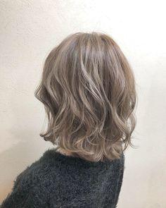 Ashy Blonde Hair, Ash Hair, Ash Brown Hair, Love Your Hair, Cut My Hair, Hair Cuts, Hair Arrange, Aesthetic Hair, Grunge Hair