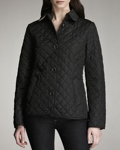 01e86802833c Burberry Brit - Quilted Jacket