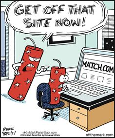 Off the Mark: Get off that site now!