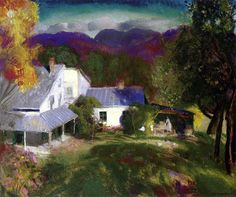 George Wesley Bellows - Mountain House by BoFransson, via Flickr