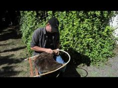 ▶ How to make an Otzi the Iceman style Backpack. - YouTube