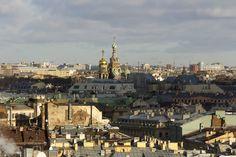 Санкт Петербург,крыши - null