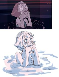 Crying Pearl is so beautiful. | Steven Universe | Know Your Meme