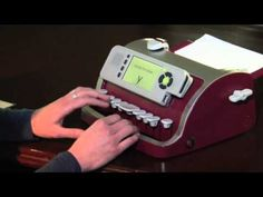 A video that demonstrates what the new Smart Brailler can do.