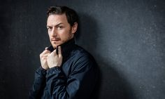 James McAvoy in London. Photograph: David Levene for the Guardian
