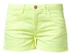ShopStyle: ICHI XHysa Bermuda / Short jaune