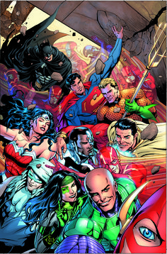 DC Comics Selfie variants Justice League #34