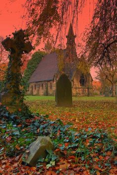 Old Church Autumn