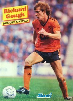 Richard Gough of Dundee Utd 1982.