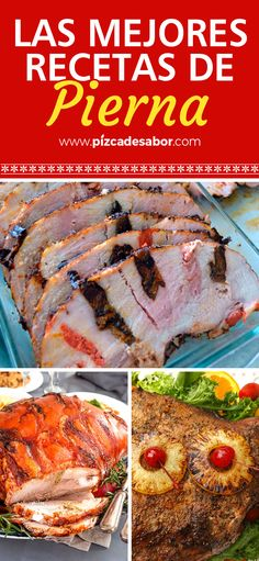 Las mejores recetas de pierna para Navidad - Mend Tutorial and Ideas Pork Recipes, Mexican Food Recipes, Snack Recipes, Cooking Recipes, Healthy Recipes, Friend Recipe, Salty Foods, How To Cook Pork, Meat Lovers
