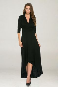Lhea Dress in Black | Women's Clothes, Casual Dresses, Fashion Earrings & Accessories | Emma Stine Limited